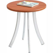 Safco® Decori™ Wood Side Table, Short, Cherry