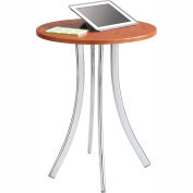 Safco® Decori™ Wood Side Table, Tall, Cherry