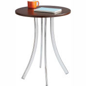 Safco® Decori™ Wood Side Table, Tall, Mahogany