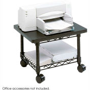 Safco® 5206BL Under-Desk Printer/Fax Stand - Black