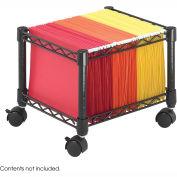 Safco® 5220 Mini File Cart Black