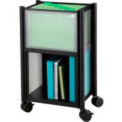 Safco® Impromptu® 5376 Mobile Storage Center Black