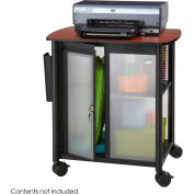 Safco® Impromptu® 5377 Personal Mobile Storage Center Black