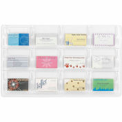 Clear 12 Business Card Display