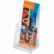 Acrylic Single Pocket Pamphlet Display (Qty 6) - Clear