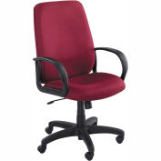 Balance Executive High-Back Seating - Burgundy