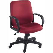 Balance Executive Mid-Back Seating - Burgundy