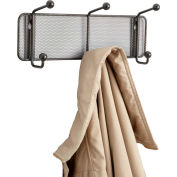 Safco® Onyx Mesh Wall Rack - 3 Hook (Qty. 6)