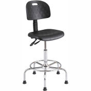 WorkFit Deluxe Industrial Stool