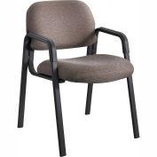 Cava Urth Straight Leg Guest Chair, Brown Fabric