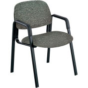 Cava Urth Straight Leg Guest Chair, Gray Fabric