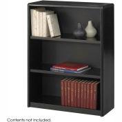 3-Shelf Economy Bookcase - Black