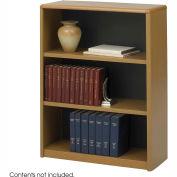 3-Shelf Economy Bookcase - Medium Oak