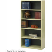 5-Shelf Economy Bookcase - Sand