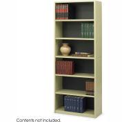 6-Shelf Economy Bookcase - Sand