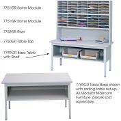 Mailroom Sorting Table Frame (Top sold separately)