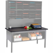 E-Z Sort Table Top (Table Frame Sold Separately), Black