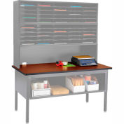 E-Z Sort Table Top (Table Frame Sold Separately), Cherry