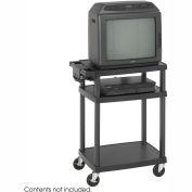 Safco® Plastic AV & Monitor Cart