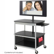 Safco® Flat Panel Multimedia Cart - Open Base