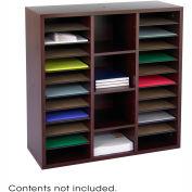 Après™ Modular Storage Literature Organizer - Mahogany