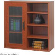 Après™ Modular Storage Single Door/ Open Shelves - Cherry