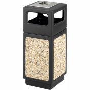 Canmeleon™ Aggregate Panel, Ash Urn/Side Open, 15 Gallon Black - 9470NC