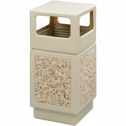 Canmeleon™ Aggregate Panel, Side Open, 38 Gallon, Tan