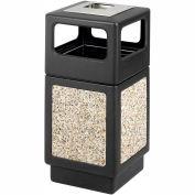Canmeleon™ Aggregate Panel, Ash Urn/Side Open, 38 Gallon, Black