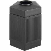 Canmeleon™ Indoor/Outdoor, 45 Gallon Pentagon Black - 9486BL