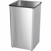 Safco® Stainless Steel 36-Gallon Receptacle Base - 9663SS
