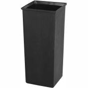 Safco® 21 Gallon Plastic Liner Black - 9668