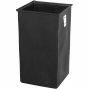 Safco® 36 Gallon Plastic Liner Black - 9669