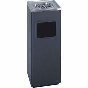 Square Ash And Trash Receptacle