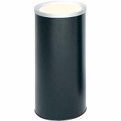 Safco® Round Ash Urn Black - 9698BL