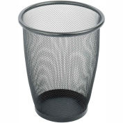 Mesh Round Wastebasket (Qty. 3) - 5 Gallon