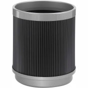 Round Poly Trash Receptacle - 5 Gallon