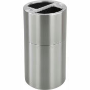 Safco® Dual Recycling Receptacle