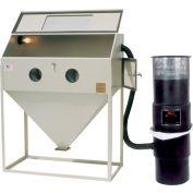 ALC 40410 Top Open Blast Cabinet W/ Dust Collector, Steel