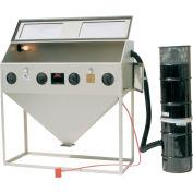 ALC 40413L Top & Side Open Blast Cabinet W/ Dust Collector, Steel