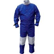 ALC 41421 Nylon Blast Suit Blue Medium, Nylon/Cotton