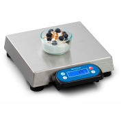 "Brecknell 6710U Point of Sale Digital Scale 30lb x 0.01lb 10"" x 10"" Platform"