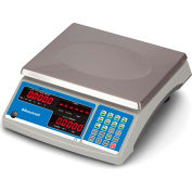 """Brecknell Digital Counting & Coin Scale 12lb x 0.0005lb 11-1/2"""" x 8-3/4"""" Platform"""