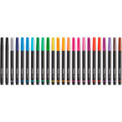 Sharpie® Art Pen, Assorted Ink, Fine, 24/Pack