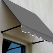 Awntech SANT21-8G, Window/Entry Awning 8-3/8'W x 2'H x 1'D Gray