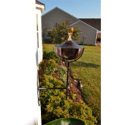 Starlite Maui Grande Outdoor Sconce Torch - Brown Patina - 2 Pack
