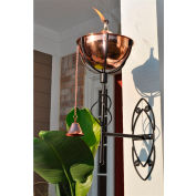 Starlite Maui Grande Outdoor Sconce Torch - Smooth Copper - 2 Pack