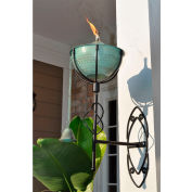 Starlite Maui Grande Outdoor Sconce Torch - Weathered Patina - 2 Pack