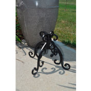 Starlite Wrought Iron Black Accessory Base for Outdoor Pole Torches