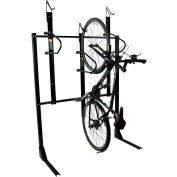 Bike Fixation 8023, Indoor 3 Bike Non-Lockable Vertical Storage Rack